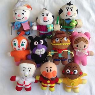 アンパンマン(アンパンマン)のアンパンマン ぬいぐるみ 人形 セット キーホルダー おもちゃ(ぬいぐるみ/人形)