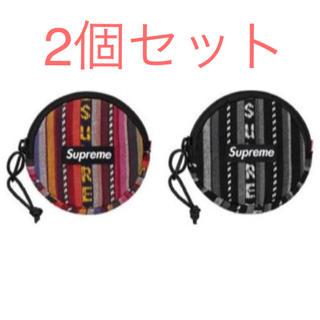シュプリーム(Supreme)のsupreme woven Stripe coin pouch 2色セット(コインケース/小銭入れ)