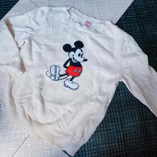 ユニクロ(UNIQLO)のUNIQLO ミッキー ニット 110cm Disney ディズニー (ニット)