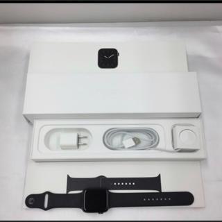 アップルウォッチ(Apple Watch)の新品同様!おまけあり!アップルウォッチ series5 44mm GPSモデル (スマートフォン本体)
