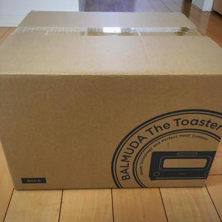 バルミューダ(BALMUDA)のバルミューダ トースター ブラック 黒 K01E-KG  新品未開封未使用(調理機器)