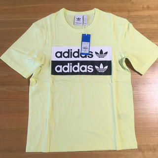 アディダス(adidas)のアディダス オリジナルス Tシャツ イエロー XS(Tシャツ/カットソー(半袖/袖なし))