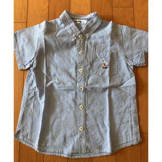 ファミリア(familiar)のファミリア  110センチ半袖シャツ(ブラウス)