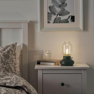 イケア(IKEA)のTÄRNABY テールナビー テーブルランプ LED電球付き(テーブルスタンド)