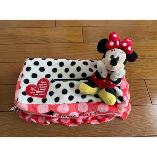 ディズニー(Disney)のティッシュボックスケースカバー ミニーマウス ディズニー(ティッシュボックス)