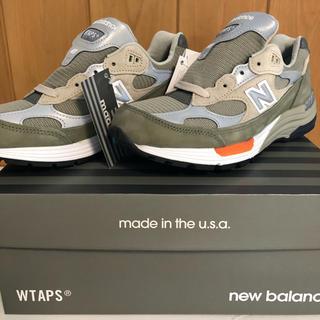 """ダブルタップス(W)taps)のWTAPS®×New Balance """"M992WT"""" US7.5 25.5(スニーカー)"""