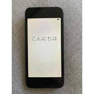 アイポッドタッチ(iPod touch)のiPod touch 5世代  32G ブラック(ポータブルプレーヤー)