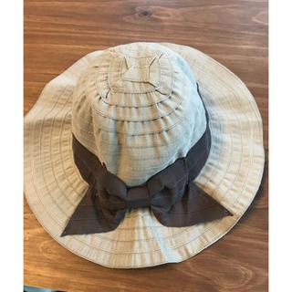 ジーユー(GU)のハット 美品 gu  洗える帽子(帽子)