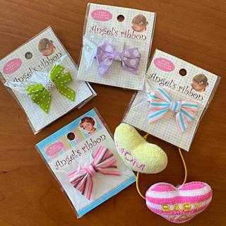 プティマイン(petit main)の新品★ Angel's ribbon エンジェルズリボン 4個セット ベビー(その他)