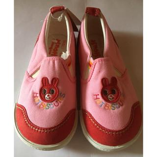 ホットビスケッツ(HOT BISCUITS)のミキハウス 靴 17cm  女の子用(スニーカー)