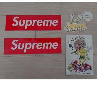 シュプリーム(Supreme)の新作 supreme ステッカー 4枚セット(その他)