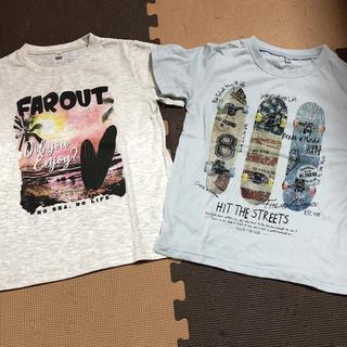 男の子 半袖 Tシャツ 130cm 2枚セット(Tシャツ/カットソー)