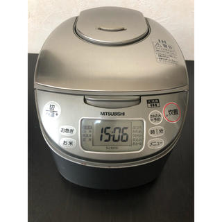 ミツビシ(三菱)のMITSUBISHI  IH炊飯器 5合焚き NJ-KH10(炊飯器)