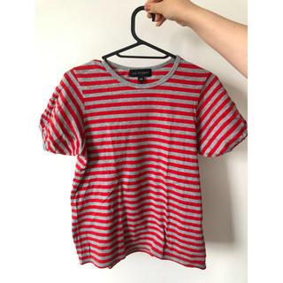 ジルスチュアート(JILLSTUART)のボーダーTシャツ(Tシャツ(半袖/袖なし))
