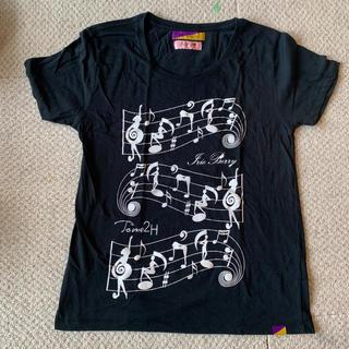 アイリーベリー(Irie Berry)のTome2H Irie Berry コラボ Tシャツ otogirls 黒(Tシャツ(半袖/袖なし))