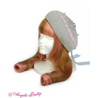 アンジェリックプリティー(Angelic Pretty)のRosy ribbon ベレー(ハンチング/ベレー帽)