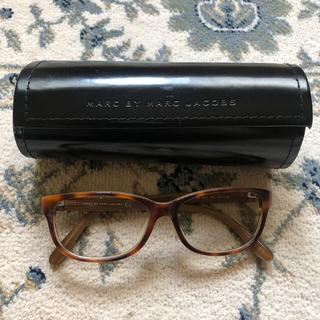 マークジェイコブス(MARC JACOBS)のケース付き マークジェイコブス メガネ サングラス レンズなし べっこう(サングラス/メガネ)