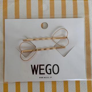 ウィゴー(WEGO)のレア*新品 WEGO ハートメタルヘアピン  兄コマ せとか役 土屋太鳳着用(ヘアピン)