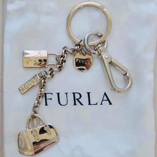 Furla - 美品フルラ ロングキーホルダー チャーム
