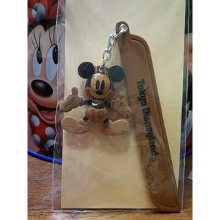 ディズニー(Disney)のディズニーリゾート ミッキーマウス ブックマーカー(本革)(しおり/ステッカー)