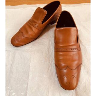 セリーヌ(celine)のCELINE セリーヌ レディース ローファー サイズ40 イタリア製(ローファー/革靴)