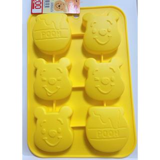 クマノプーサン(くまのプーさん)のダイソー ディズニー シリコンモールド くまのプーさん(調理道具/製菓道具)
