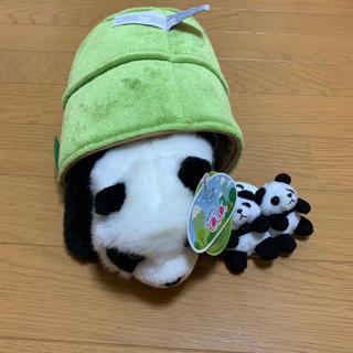 アウロラ(AURORA)の新品未使用 パンダパペット キーホルダー (ぬいぐるみ)