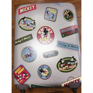 ミッキーマウス(ミッキーマウス)の激レア ミッキー大型スーツケース(スーツケース/キャリーバッグ)