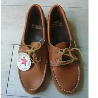 デットストック デッキシューズ USA vintage 70s 80s 90s(ローファー/革靴)