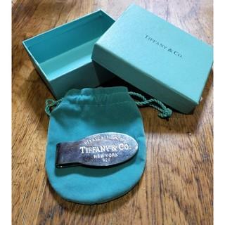 ティファニー(Tiffany & Co.)のTIFFANYのマネークリップ(マネークリップ)