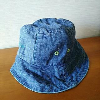 アイシッケライ(ej sikke lej)のアイシッケライ こどまーく デニム帽子(帽子)