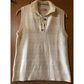 ミチコロンドン(MICHIKO LONDON)のMICHIKO LONDON jeans  ノースリーブ ニット (カットソー(半袖/袖なし))