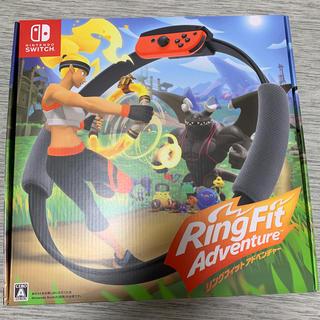 ニンテンドースイッチ(Nintendo Switch)のリングフィットアドベンチャー 新品 即発送 switch(家庭用ゲームソフト)