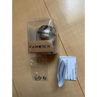 GOMEXUS ゴメクサス シルバーブラック 38mm(リール)