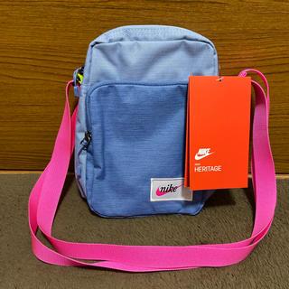 ナイキ(NIKE)のNIKE ナイキ ショルダーバック ウエストバッグ ブルー×ピンク(ショルダーバッグ)