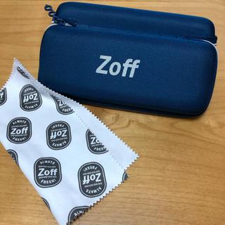 ゾフ(Zoff)の新品未使用 ゾフ メガネケース メガネ拭き セット(サングラス/メガネ)