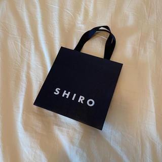 シロ(shiro)のSHIRO ショッパー(ショップ袋)