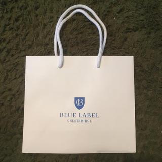 バーバリーブルーレーベル(BURBERRY BLUE LABEL)のバーバリー 手提袋 ギフト袋 紙袋 ブルーレーベル BLUE LABEL(ショップ袋)