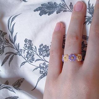 ディーホリック(dholic)のリング 指輪 韓国 花 No.16(リング)