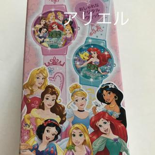 ディズニー(Disney)の【未使用】キラキラウォッチ アリエル(腕時計)