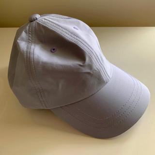 レプシィム(LEPSIM)のLEPSIM レプシム シンプルカラーCAP 帽子 ラベンダー色(キャップ)
