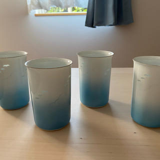 磁器のグラス(グラス/カップ)