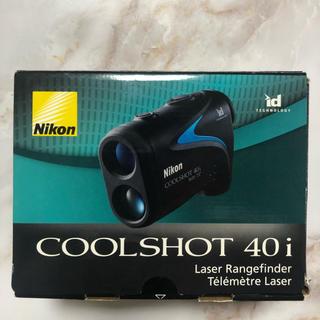 ニコン(Nikon)のNikon COOLSHOT 40 i(ゴルフ)