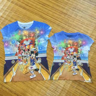 ディズニー(Disney)の親子Tシャツ 親子コーデ 親子ペアルック ディズニー Mサイズ、Sサイズ(その他)