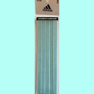 アディダス(adidas)のアディダス ヘアバンドセット 水色【購入時コメント不要です】(その他)