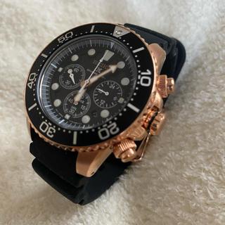 セイコー(SEIKO)の日本未発売 逆輸入 SEIKO SSC618 ソーラー クロノグラフ ダイバー(腕時計(アナログ))