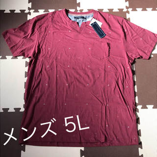 メンズ5L 山本寛斎半袖Tシャツ 大きいサイズ