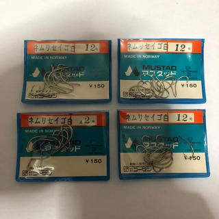 ゴーセン(GOSEN)のマスタッド製 ネムリセイゴ  12号4袋セット  定価1袋150円 (釣り糸/ライン)