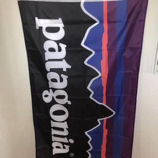 パタゴニアフラッグ 特大 patagonia フラッグ(その他)