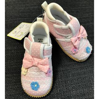 ♡新品・未使用♡ ベビー靴 ベビー用品 スニーカー ベビーシューズ(フォーマルシューズ)